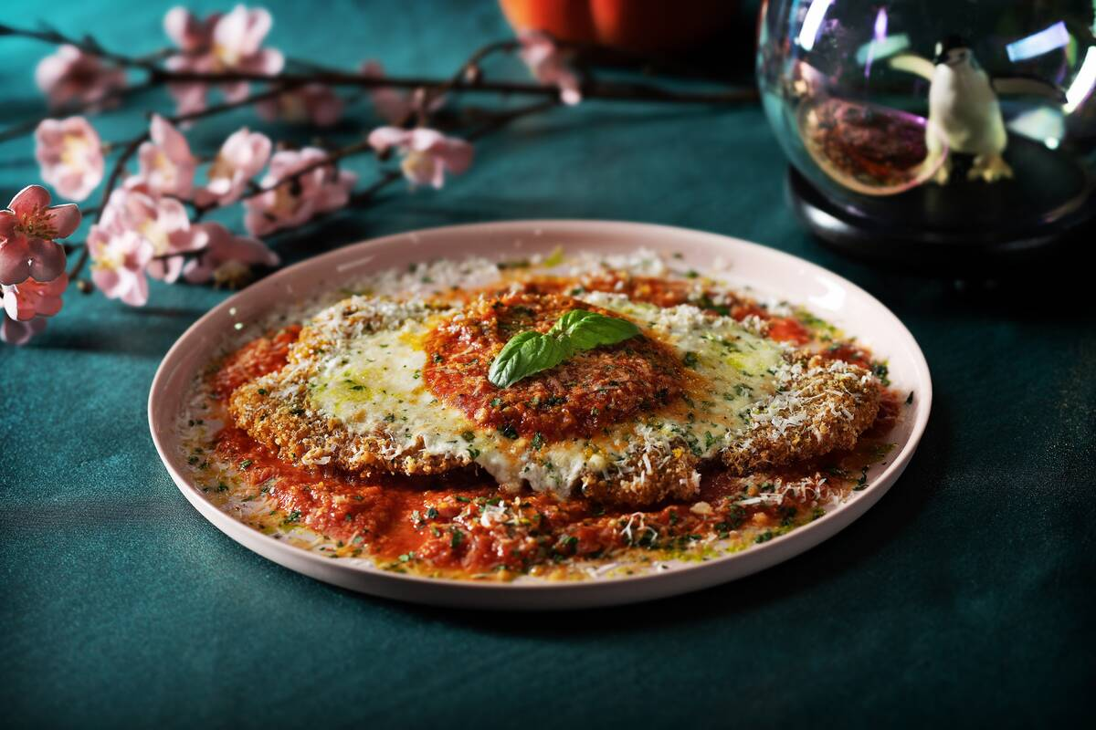 Superfrico's chicken Parmesan. (Anthony Mair)
