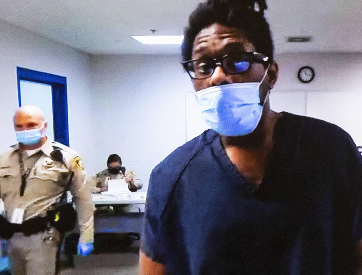 Jarrid Johnson, who in 2018 confessed to killing a fellow homeless man and drinking his blood, ...