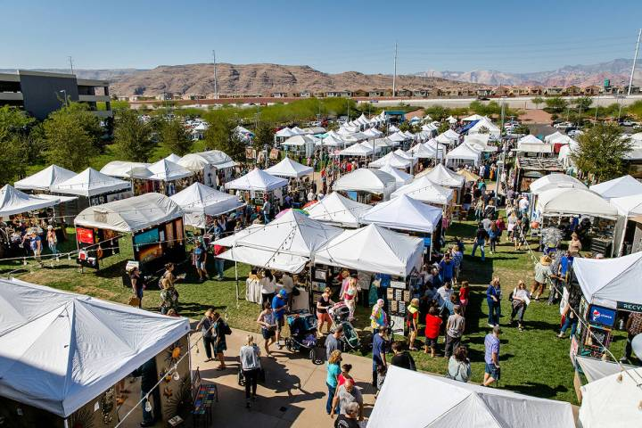 The 25th annual Summerlin Festival of Arts returns to Downtown Summerlin, Oct. 9-10 and feature ...