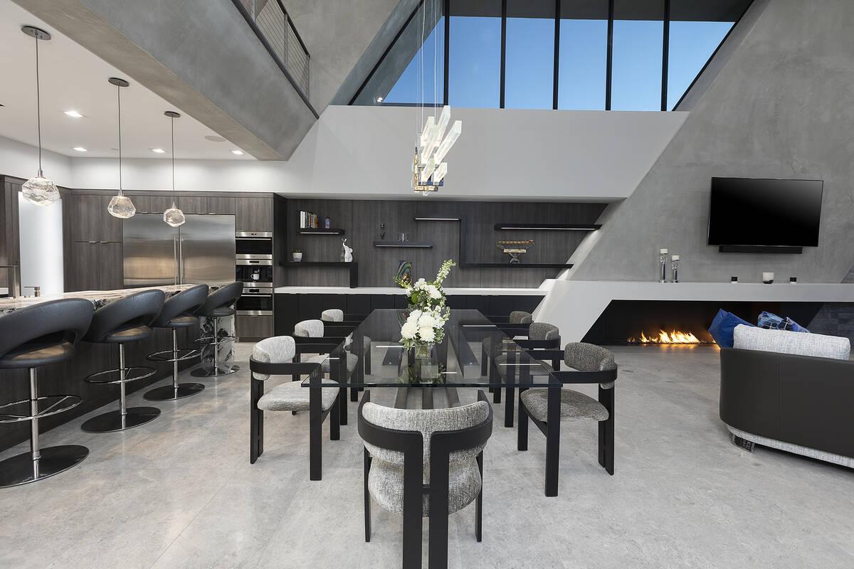 Kristen Routh-Silberman, Corcoran Global Living Voluminous 24-foot ceilings in the formal livin ...