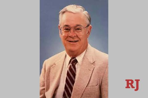 Donald R. Payne in a photo taken about 2002. Payne, who was manager of the Las Vegas News Burea ...