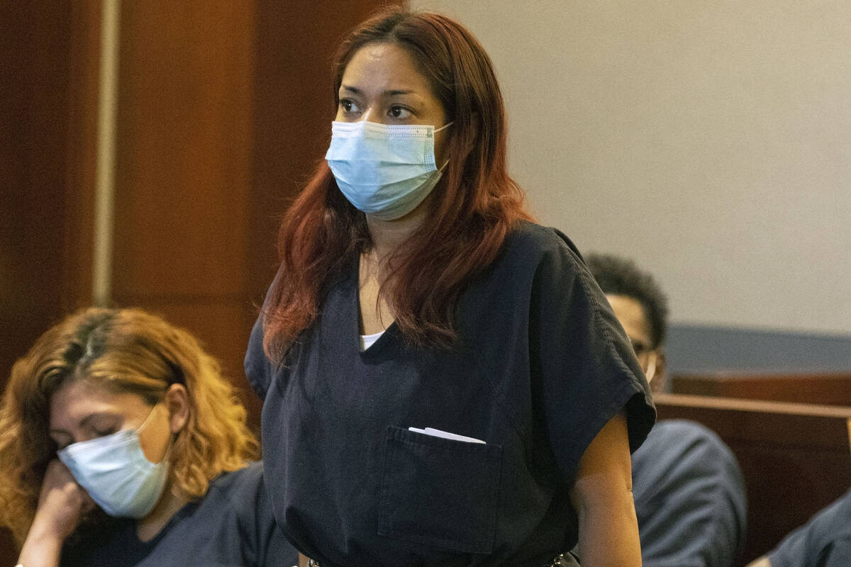 Maylien Doppert, accused of running over her boyfriend with her car and killing him, appears in ...