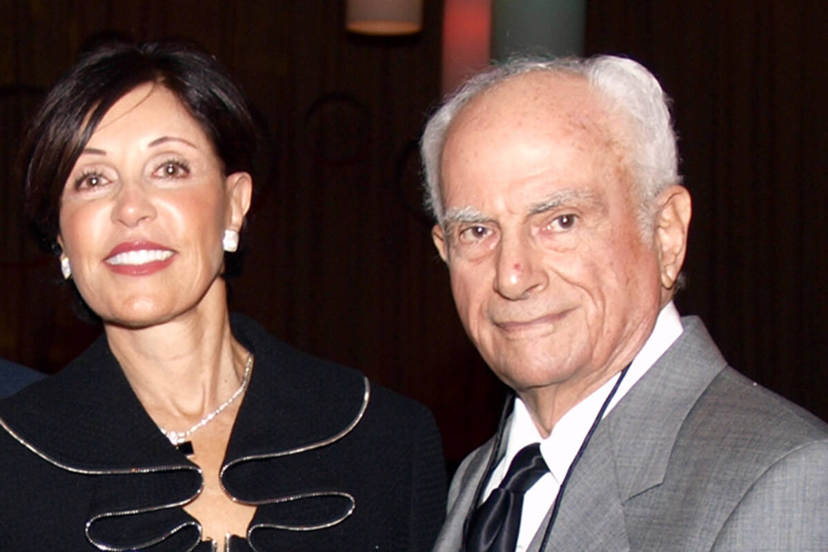 Sandra and Stan Mallin (Las Vegas Review-Journal/File)