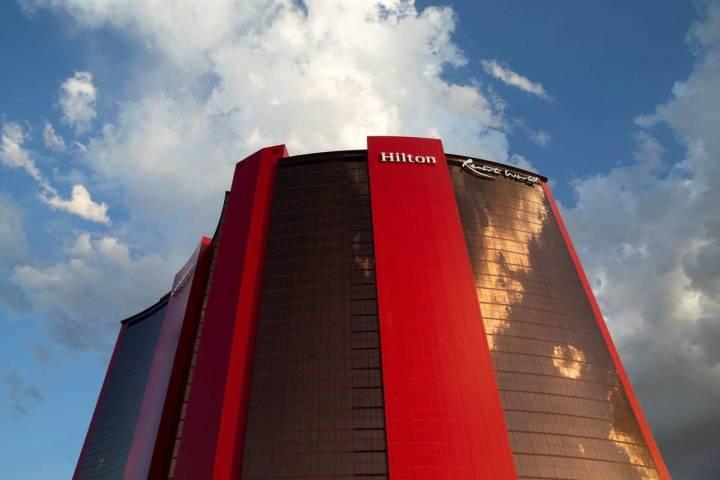 Resorts World Las Vegas is seen on Thursday, June 24, 2021, in Las Vegas. (Ellen Schmidt/Las Ve ...