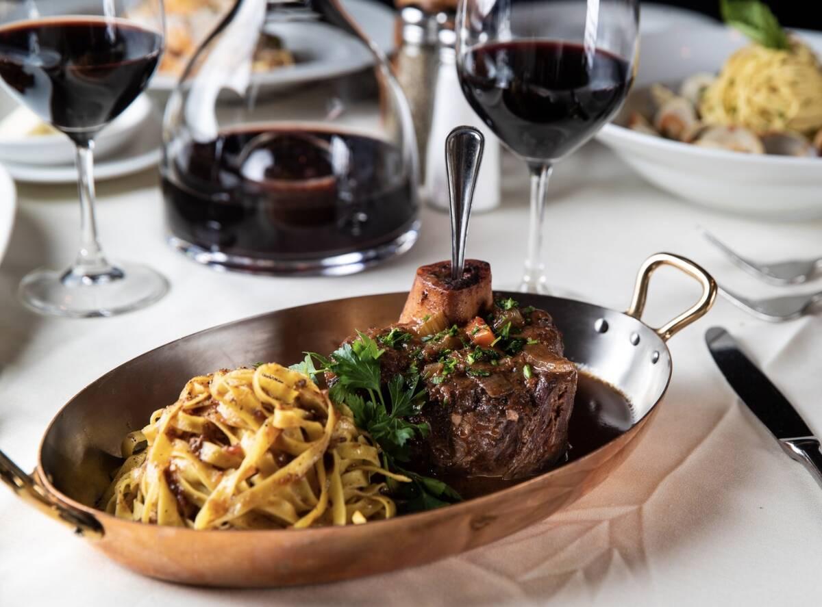 Osso bucco has been on Piero's menu since 1982. (Piero's Italian Cuisine)