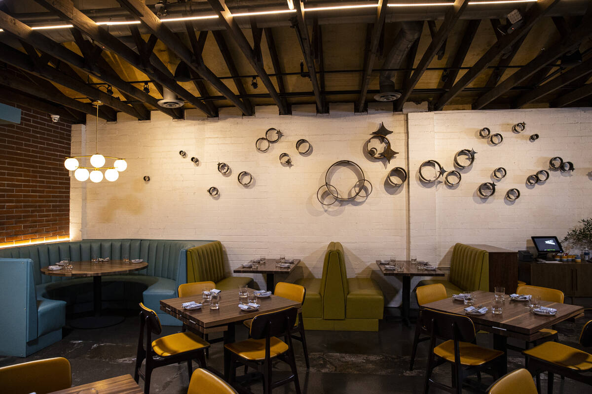 An interior view at Main St. Provisions in downtown Las Vegas' Arts District on Thursday ...