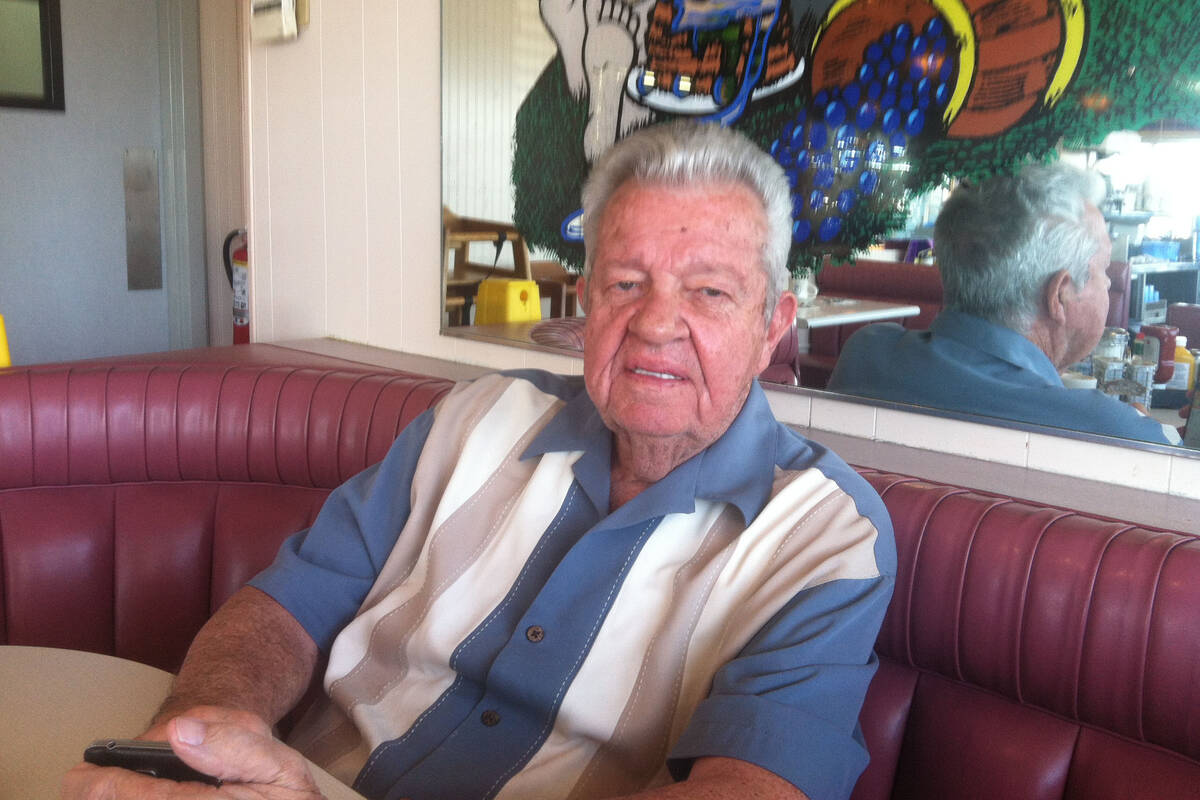Gene Kilroy, business manager for Muhammad Ali, talks Monday about the late boxing legend. (Las ...