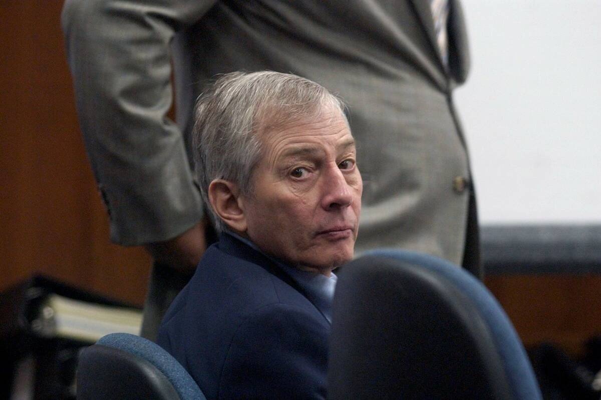 Defendant Robert Durst appears during his trial in Galveston, Texas., in October 2003. (AP Phot ...