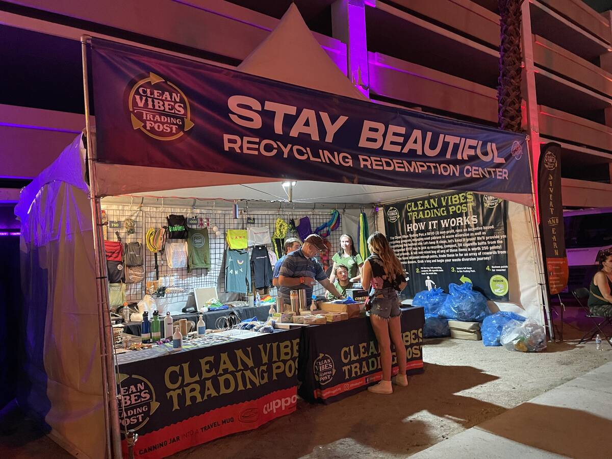 Clean Vibes Trading Post (Janna Karel/Las Vegas Review-Journal)