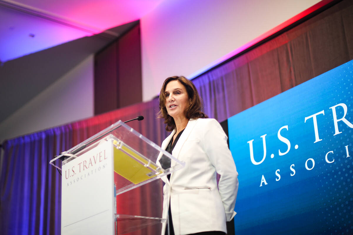 Sarah Morgenthau, deputy assistant secretary for travel and tourism for the U.S. Department of ...