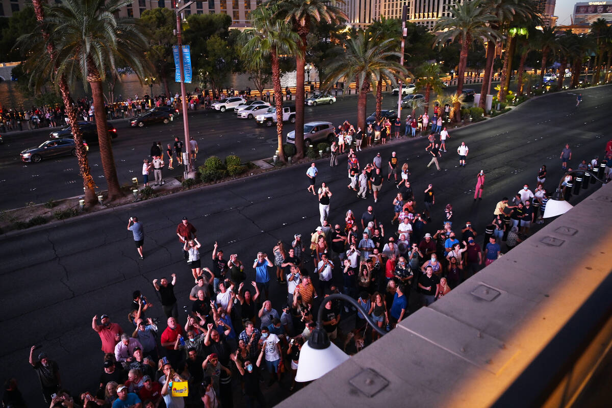 A general view at the launch of Sammy Beach Bar Cocktail Co. at Beer Park at Paris Las Vegas on ...