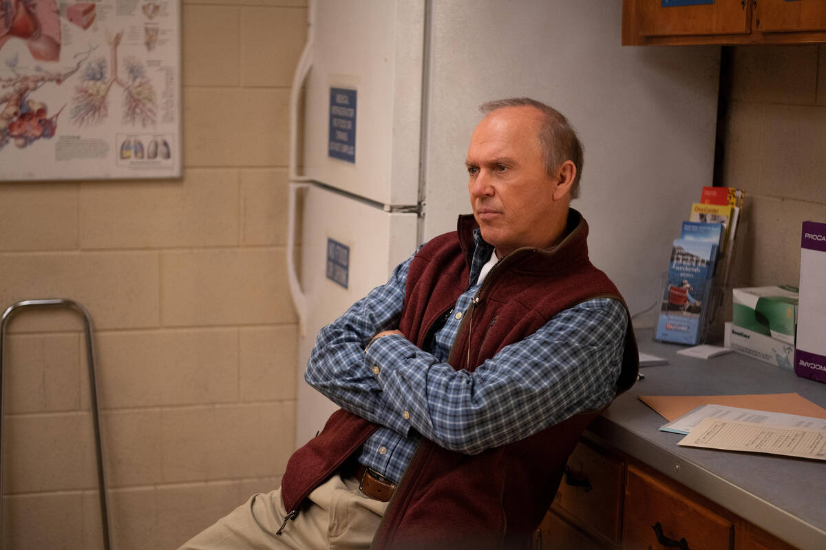 """Michael Keaton stars in and executive produces Hulu's new eight-episode drama """"Dopesick."""" ..."""