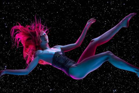 """The """"Opium"""" character Leeloo is shown in a promotional image for the show's relaunch at the Cos ..."""