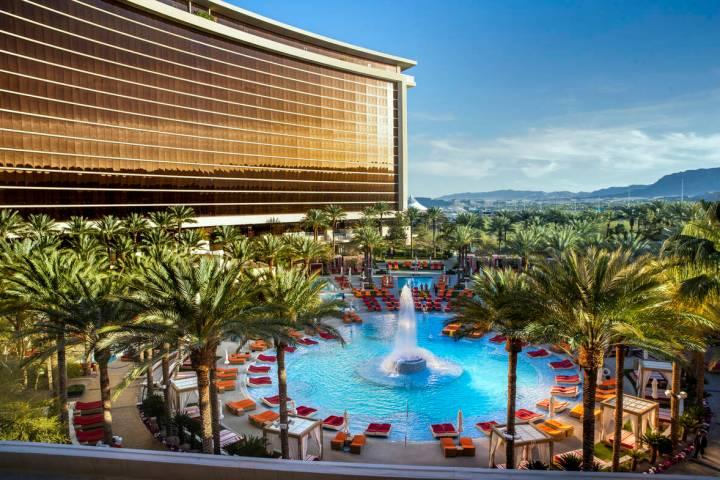 Red Rock Resort, seen in April 2021. (L.E. Baskow/Las Vegas Review-Journal)
