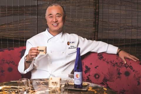 Chef Nobu Matsuhisa at Caesars Palace. (Nobu)