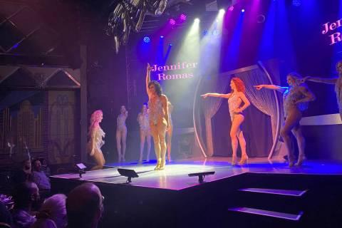 "The finale of ""Sexxy"" at Westgate Cabaret is shown on Sunday, Oct. 17, 2021. (John Katsilometes ..."