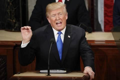 Donald Trump. (AP Photo/Pablo Martinez Monsivais)