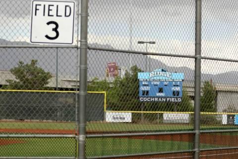 A view of Field 3 at Mountain Ridge Park in Las Vegas. The same field the 2014 Mountain Ridge t ...