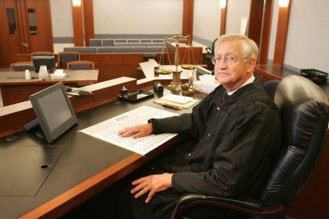 District Judge John McGroarty. (Review-Journal file)